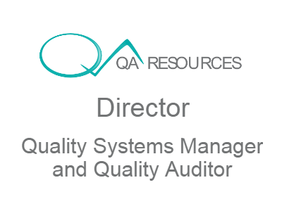 Catherine O'Brien - Quality Systems Manager | Director QA Resources