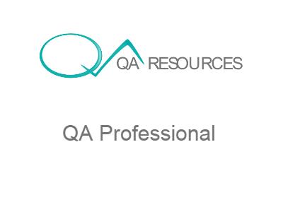 QA Professional | QA Resources